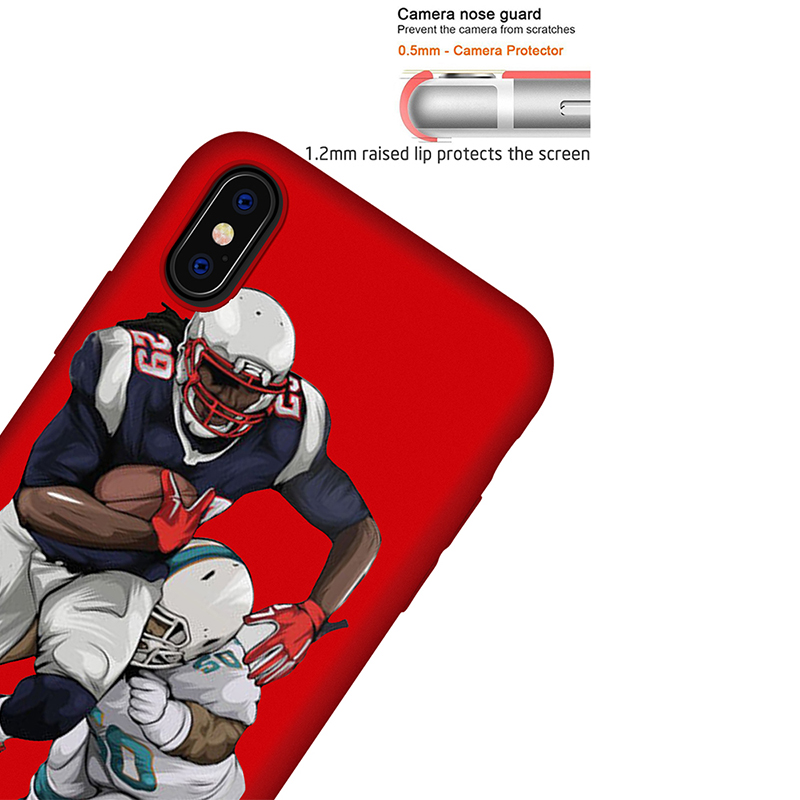 NFL Rugby Odell Beckham DIFFRBEAUT Phone Case For IPhone X